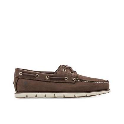 Dark Brown Nubuck - Men's Tidelands Boat Shoe Https://Www.Timberland.Com.Au/Shop/Sale/Mens/Boat-Shoes Shoes by Timberland