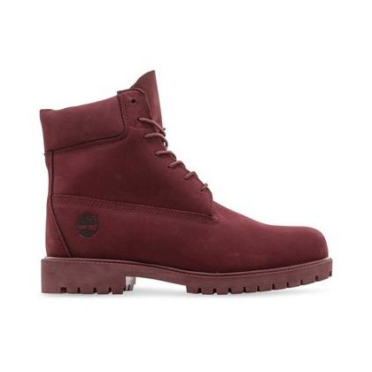 Dark Red Nubuck - Men's Timberland? Heritage 6-Inch Waterproof Boots Https://Www.Timberland.Com.Au/Shop/Sale/Mens/Boots Shoes by Timberland