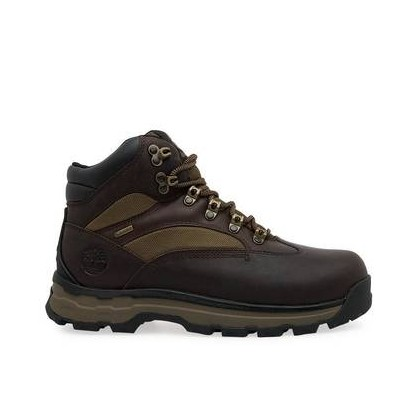 Dark Brown Full-Grain - Mens Chocorua Trail 2.0 Waterproof Hiking Boots Footwear Shoes by Timberland