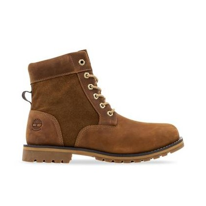 MD Brown Full Grain - Mens Larchmont 6-Inch Boots Footwear Shoes by Timberland