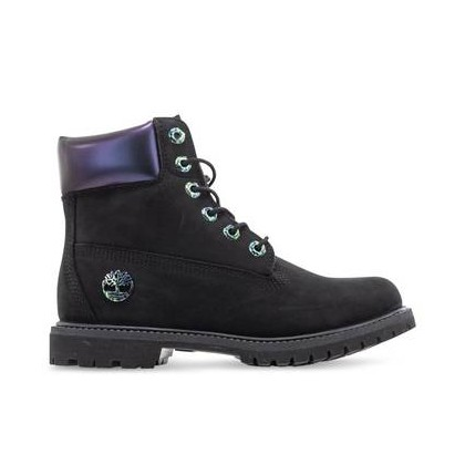 Blk Nubuck Iridesc - Women's 6-Inch Iridescent Boot Https://Www.Timberland.Com.Au/Shop/Sale/Womens/Footwear Shoes by Timberland