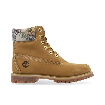 Wheat Nubuck - Women's 6-Inch Premium Boot 6 Inch Boots Shoes by Timberland
