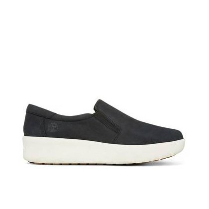 Jet Black - Women's Berlin Park Slip On Footwear Shoes by Timberland
