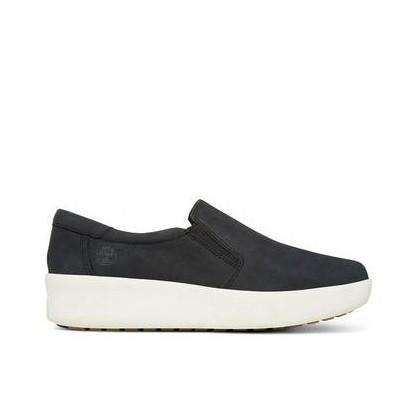 Jet Black - Women's Berlin Park Slip On Footwear Shoes by Timberland