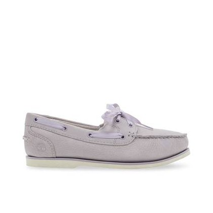 Light Purple Nubuck - Women's Classic Unlined Boat Shoes Footwear Shoes by Timberland