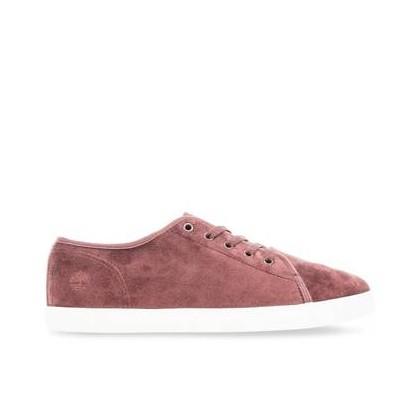 Burgundy Velvet - Women's Dausette Velvet Oxford Footwear Shoes by Timberland