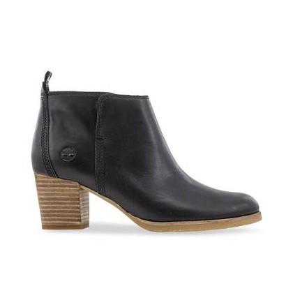 Black Full Grain - Women's Eleonor Street Ankle Boots Https://Www.Timberland.Com.Au/Shop/Sale/Womens/Footwear Shoes by Timberland