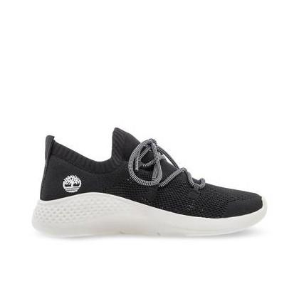 Black Knit - Women's Flyroam? Go Knit Sneakers Https://Www.Timberland.Com.Au/Shop/Sale/Womens/Footwear Shoes by Timberland