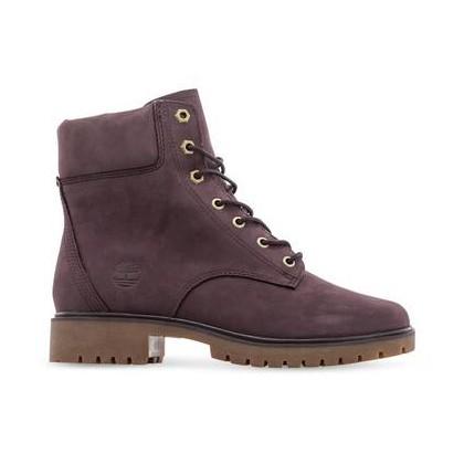 Dark Purple Nubuck - Women's Jayne 6-Inch Waterproof Boot Https://Www.Timberland.Com.Au/Shop/Sale/Womens/Footwear Shoes by Timberland