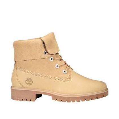Medium Beige Nubuck - Women's Jayne Suede Fold-Down Boots Https://Www.Timberland.Com.Au/Shop/Sale/Womens/Footwear Shoes by Timberland