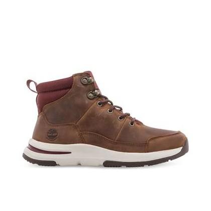 Medium Brown Full Grain - Women's Mabel Town Waterproof Hiker Https://Www.Timberland.Com.Au/Shop/Sale/Womens/Footwear Shoes by Timberland