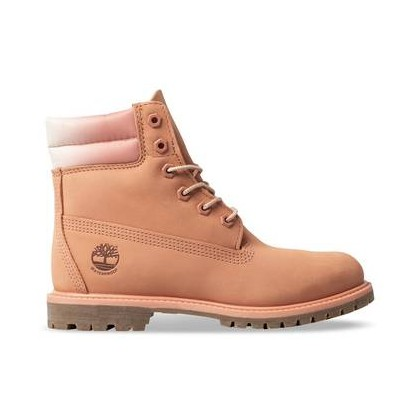Medium Pink Nubuck - Women's Waterville 6-Inch Double Collar Boot Footwear Shoes by Timberland