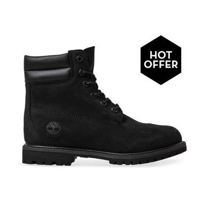 Black Nubuck - Womens Waterville 6 Inch Https://Www.Timberland.Com.Au/Shop/Sale/Womens/Footwear Shoes by Timberland