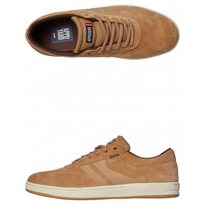 Empire Mark Appleyard Suede Shoe Tobacco Gum