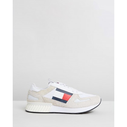 Lifestyle Tommy Jeans Runners Triple White by Tommy Hilfiger