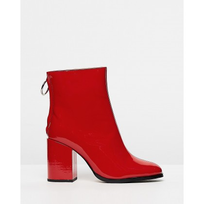 Faya Red Patent by Tony Bianco