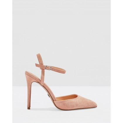 Genesis Ankle Strap Shoes Blush by Topshop