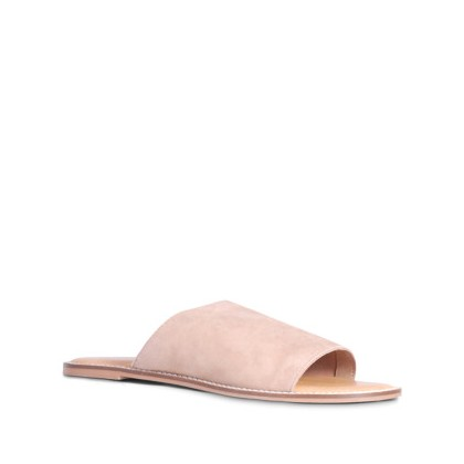 Tracee - Blush Suede by Siren Shoes