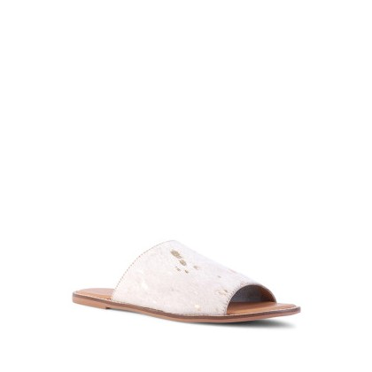 Tracee - Chalk/Gold Pony by Siren Shoes