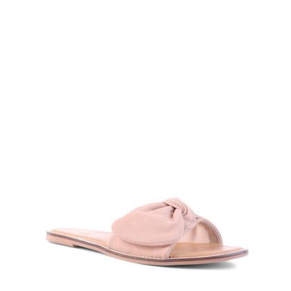 Tremont - Blush Suede by Siren Shoes
