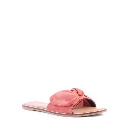 Tremont - Coral Suede by Siren Shoes