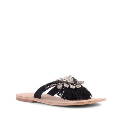 Tristen - Black Suede by Siren Shoes