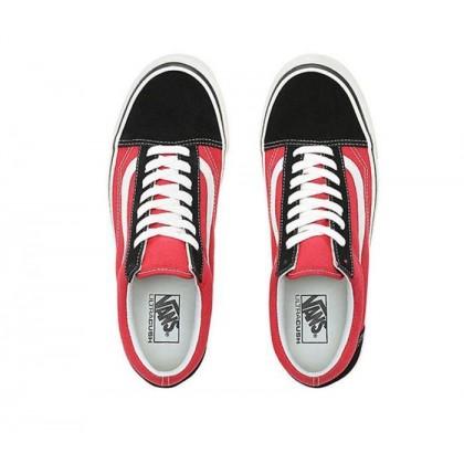 (Anaheim Factory) Og Black/Og Red - Anaheim Factory Old Skool 36 DX Black/Red Sale Shoes by Vans