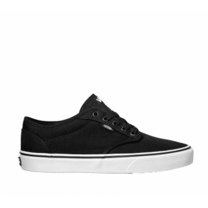 (Canvas) Black/White - ATWOOD (CANVAS) BLACK/WHITE Sale Shoes by Vans