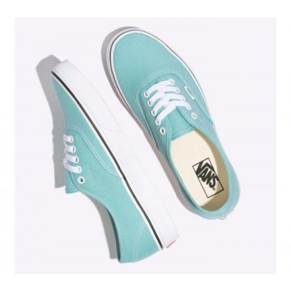 Aqua Haze/True White - Authentic Aqua Haze Sale Shoes by Vans