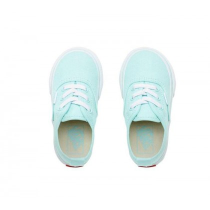 Blue Tint/True White - Authentic Elastic Lace Blue Tint Toddler Sale Shoes by Vans