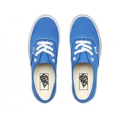 Lapis Blue/True White - Authentic Lapis Blue/White Sale Shoes by Vans