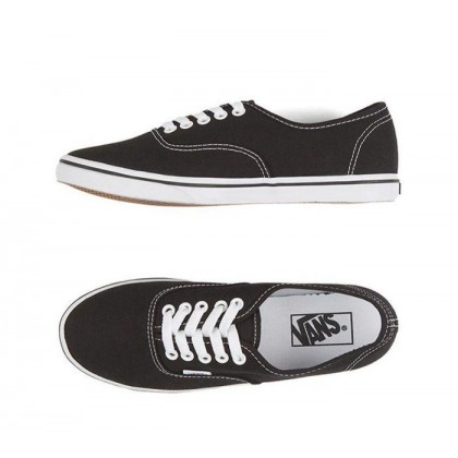 Black/True White - Authentic Lo Pro Black/True White Sale Shoes by Vans