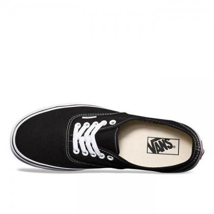 Black - Authentic Black/White Sale Shoes by Vans