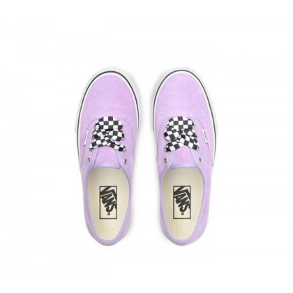 (Checkerboard Lace) Violet Tulip/True White - Authetnic Platform 2.0 Violet Sale Shoes by Vans