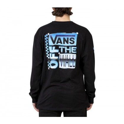 Black - AVE CHROME LONG SLEEVE BLACK Sale Shoes by Vans