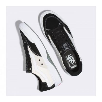 Black/White - Berle Pro White/Black Sale Shoes by Vans