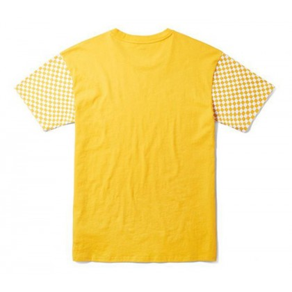 Yolk Yellow - Central Yolk Yellow Short Sleeve Tee Sale Shoes by Vans