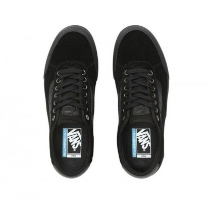 (Suede) Blackout - Chima Pro 2 Black/Black Sale Shoes by Vans