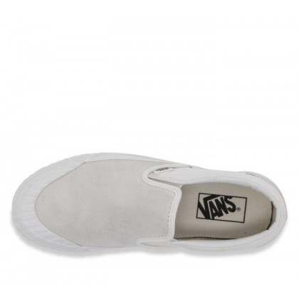 (Rugged Sidewall) Marshmallow - Classic Slip On 138 Sale Shoes by Vans