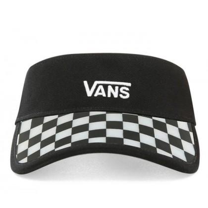 Black - Clear Cut Visor Black Sale Shoes by Vans
