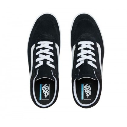 (Staple) Black/True White - Comfycush Cruze Black/White Sale Shoes by Vans