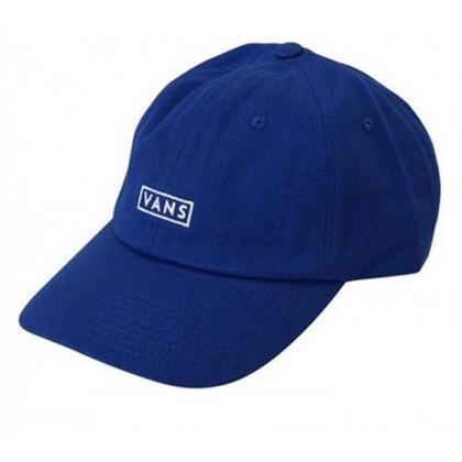 Mazarine Blue - Curved Bill Jockey Hat Sale Shoes by Vans
