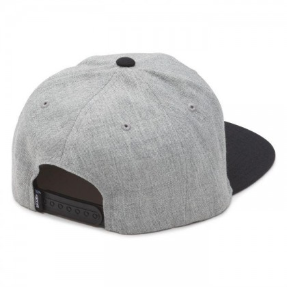 Heather Grey -Black - Drop V II Snapback Sale Shoes by Vans
