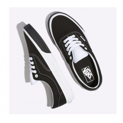 (Color Block) Black/True White - Era Colour Block Black/White Sale Shoes by Vans