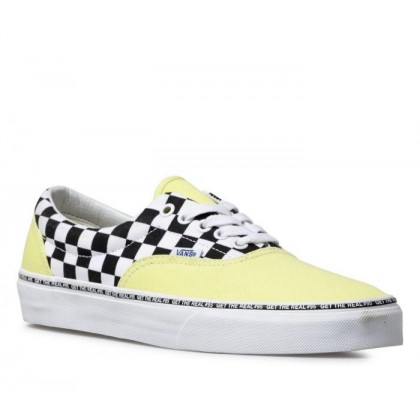(Get The Real #95) Blazing Yellow/Checkerboard - Era Get The Real 95 Yellow Check Sale Shoes by Vans