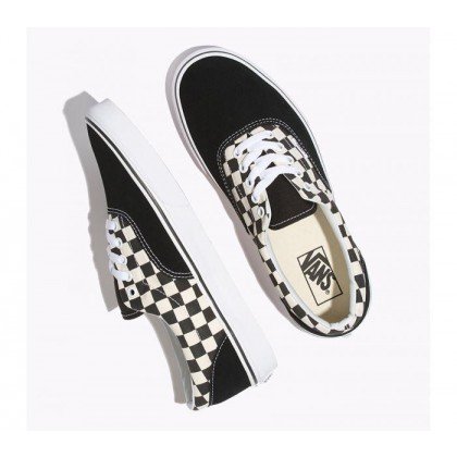 (Primary Check) Black/White - Era Primary Check Black Sale Shoes by Vans