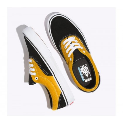 (Corduroy) Black/Yolk Yellow - Era Pro Corduroy Black Sale Shoes by Vans