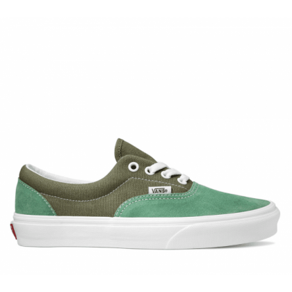 (Retro Sport) Deep Lichen Green/Creme De Menthe - ERA RETRO SPORT DEEP LICHEN GRN Sale Shoes by Vans