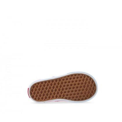 (Heart Eyelet) Strawberry Pink/True White - Era Toddler Heart Eyelet Strawberry Sale Shoes by Vans