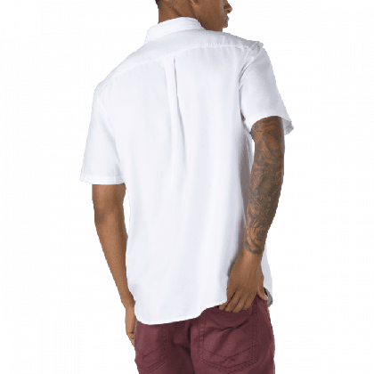White - HOUSER SHORT SLEEVE WHITE Sale Shoes by Vans